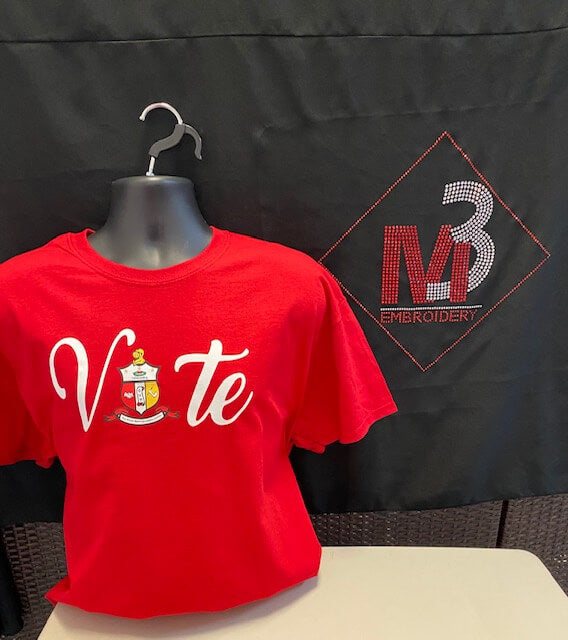 Kappa Vote Tee - Kappa Alpha Psi®️ -Greek_Paraphernalia - M3 Greek