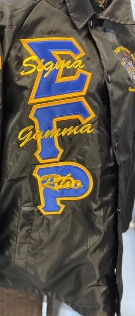Crossing Jacket - Sigma Gamma Rho -Greek_Paraphernalia - M3 Greek