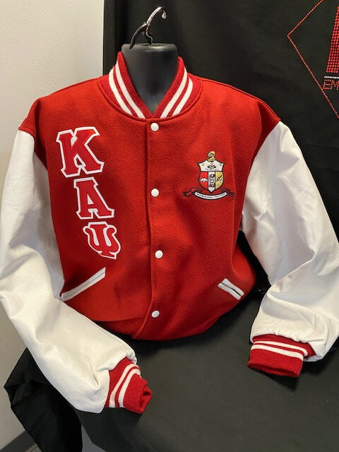 Varsity Letterman Jacket- Kappa Alpha Psi -Greek_Paraphernalia - M3 Greek