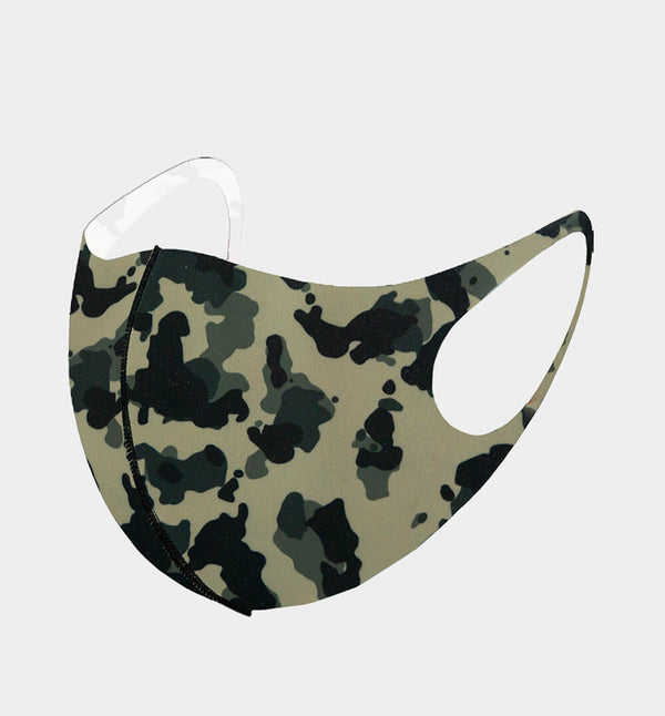 3-D Camouflage Cloth Face Mask -Greek_Paraphernalia - M3 Greek
