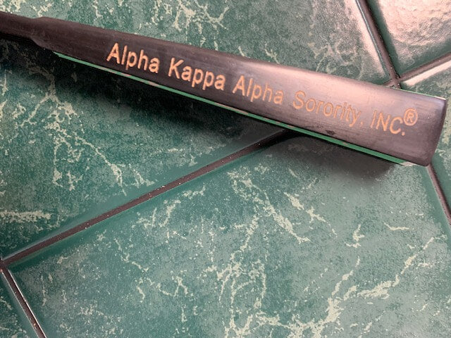 Wooden frame Sorority Fan - AlphaAlpha Kappa Alpha®️