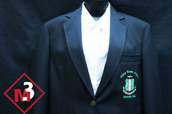 Sorority Blazer - Alpha Kappa Alpha™ -Greek_Paraphernalia - M3 Greek