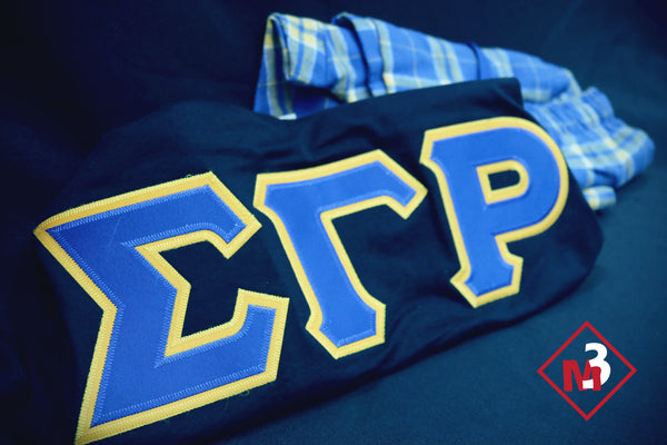 Pajama Set - Sigma Gamma Rho -Greek_Paraphernalia - M3 Greek