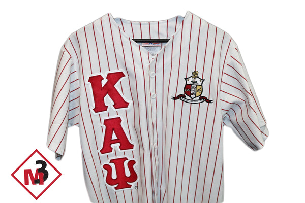 Baseball Jersey - Kappa Alpha Psi -Greek_Paraphernalia - M3 Greek