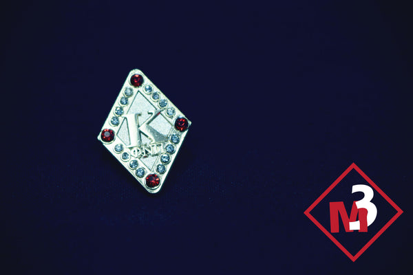 Diamond Jewel Lapel Pin - Kappa Alpha Psi -Greek_Paraphernalia - M3 Greek