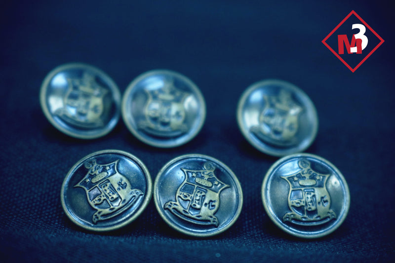 Blazer Buttons - Kappa Alpha Psi -Greek_Paraphernalia - M3 Greek
