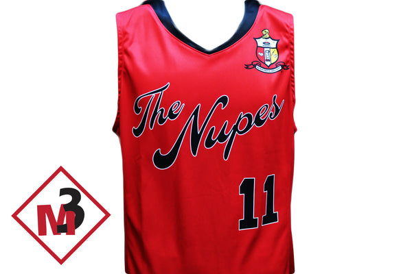 Nupes Basketball Jersey & Shorts -Kappa Alpha Psi - M3 Greek