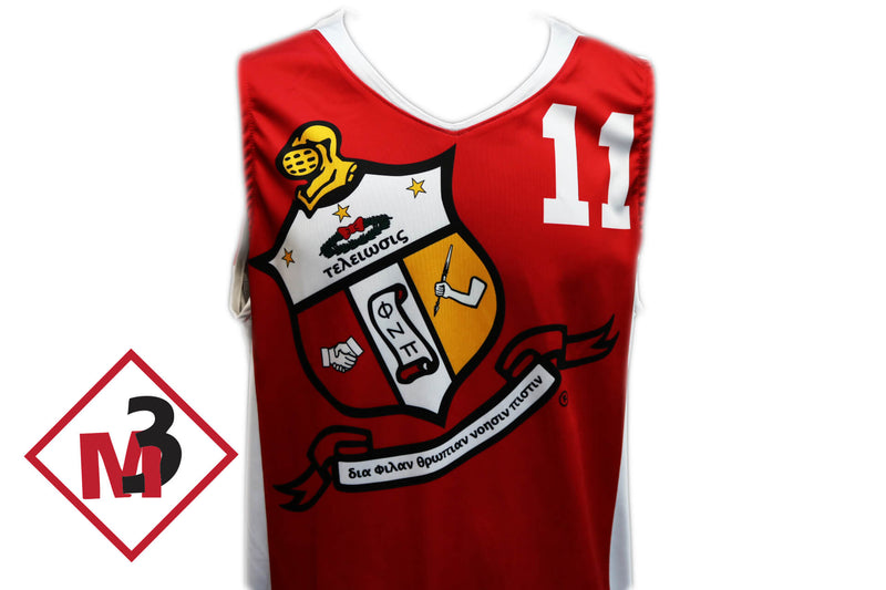 Coat of Arms Basketball Jersey & Shorts -Kappa Alpha Psi - M3 Greek