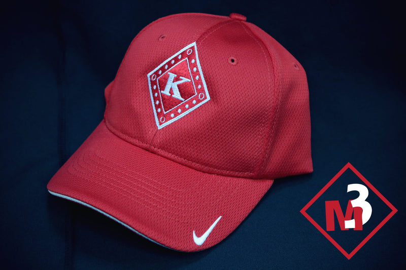 Diamond Swoosh Cap - Kappa Alpha Psi - M3 Greek