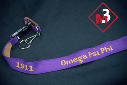 PVC Lanyard - Omega Psi Phi -Greek_Paraphernalia - M3 Greek