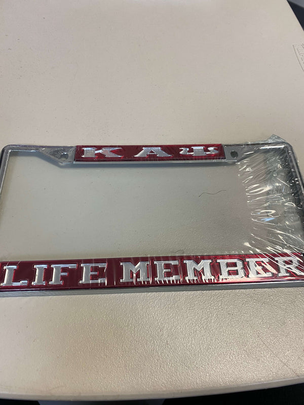 Car Frames - Kappa Alpha Psi®️ -Greek_Paraphernalia - M3 Greek