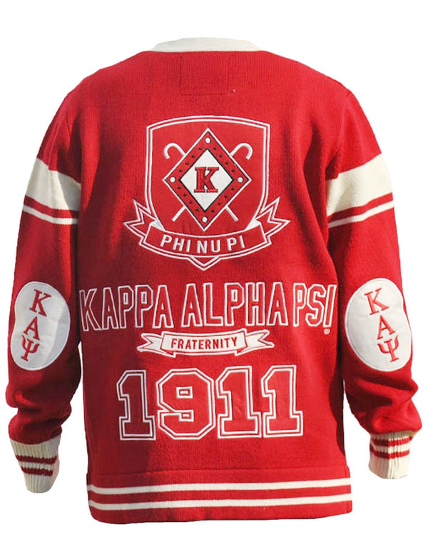 Fraternity Cardigan Sweater - Kappa Alpha Psi -Greek_Paraphernalia - M3 Greek