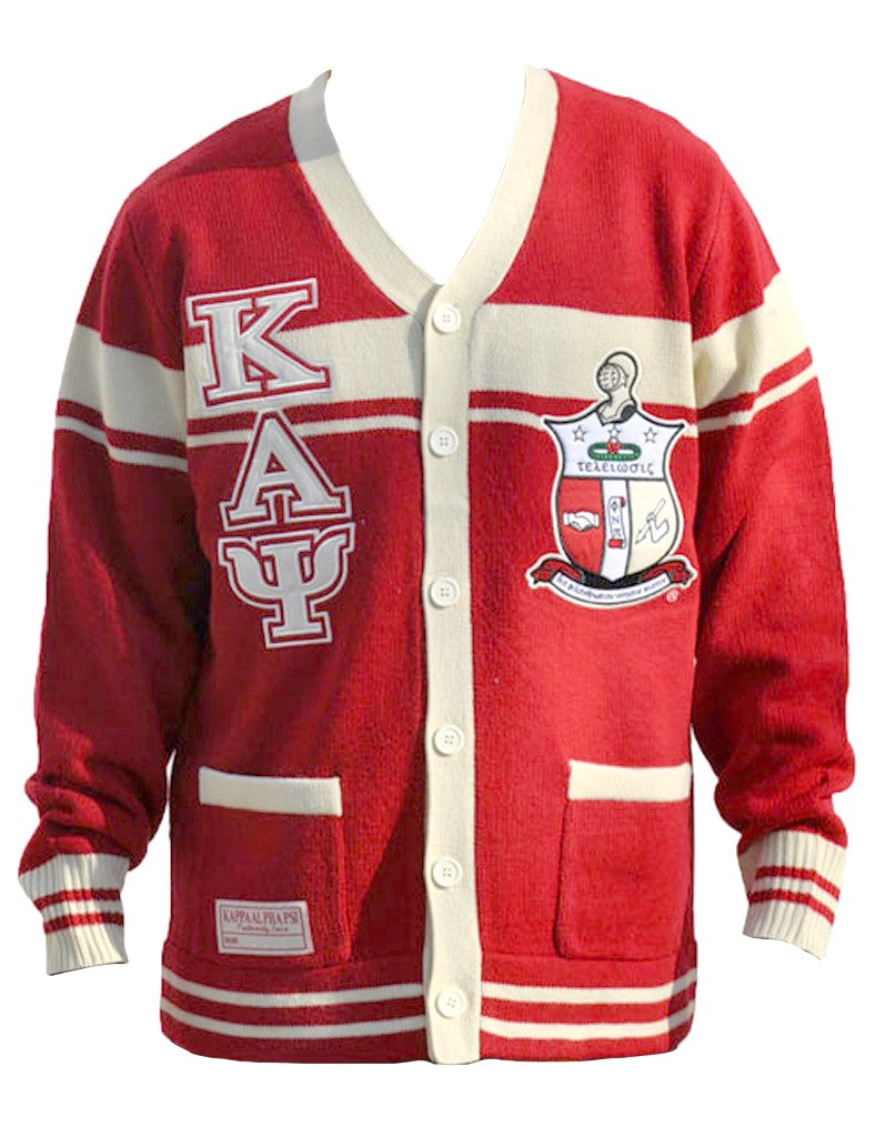 Fraternity Cardigan - Kappa Alpha Psi - M3 Greek