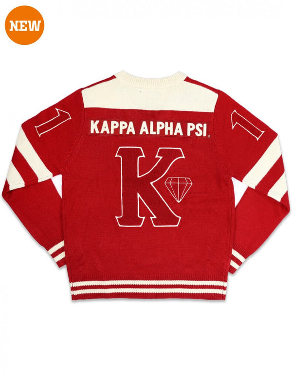 Kappa Alpha Psi Fraternity®️V-Neck Pullover Sweater