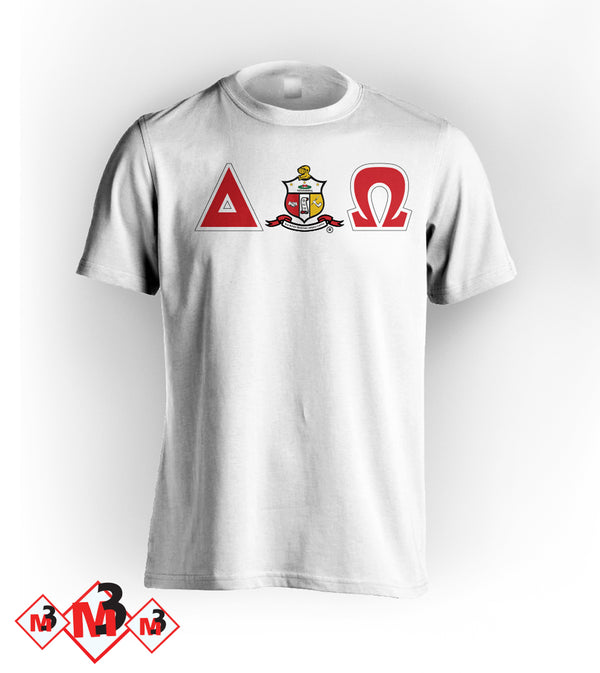 Twill Letter - Where You From Tee - Kappa Alpha Psi - M3 Greek