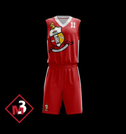 Coat of Arms Basketball Jersey & Shorts -Kappa Alpha Psi -Greek_Paraphernalia - M3 Greek