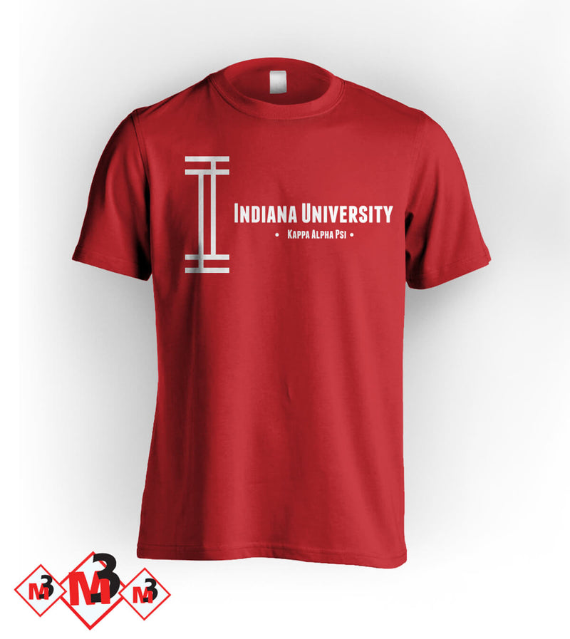 Retro Indiana Kappa Tee -Greek_Paraphernalia - M3 Greek