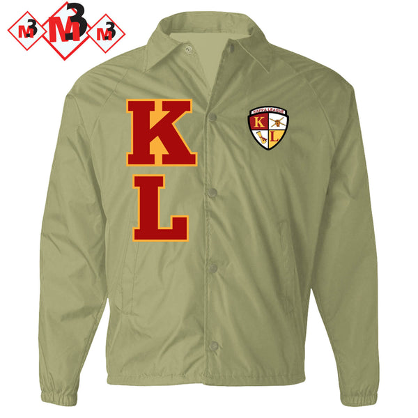 Kappa League Twill Letter Jacket -Greek_Paraphernalia - M3 Greek