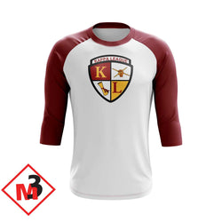 Kappa League Baseball 3/4 Sleeve Tee - M3 Greek
