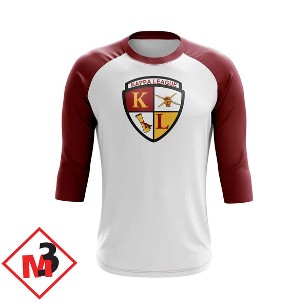 Kappa League Baseball 3/4 Sleeve Tee