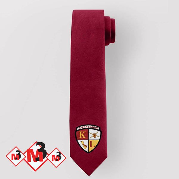 Kappa League Tie -Greek_Paraphernalia - M3 Greek