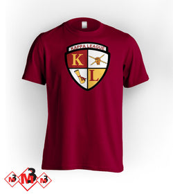 Kappa League Crest Tee -Greek_Paraphernalia - M3 Greek