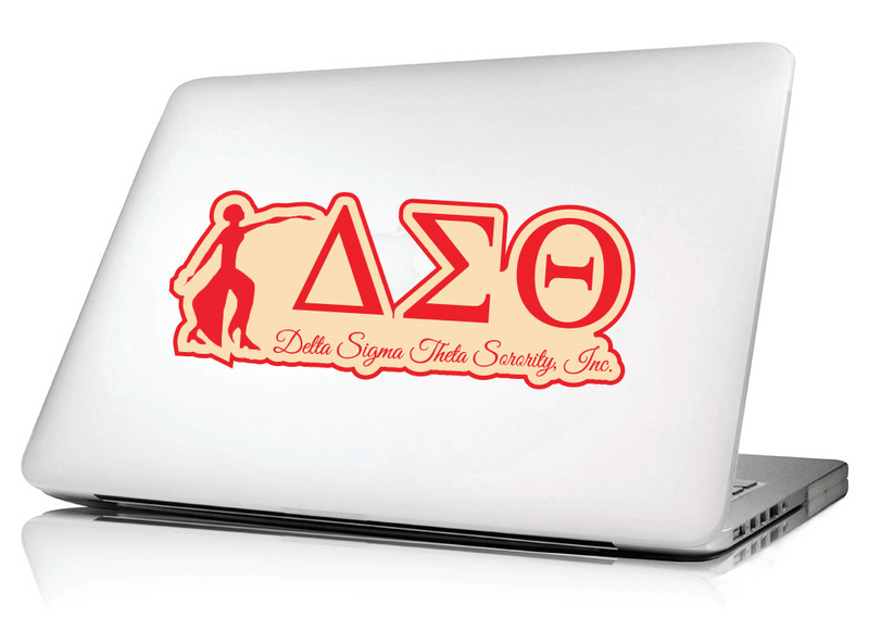 Laptop Skin and Sticker sheets - Delta Sigma Theta®️ -Greek_Paraphernalia - M3 Greek