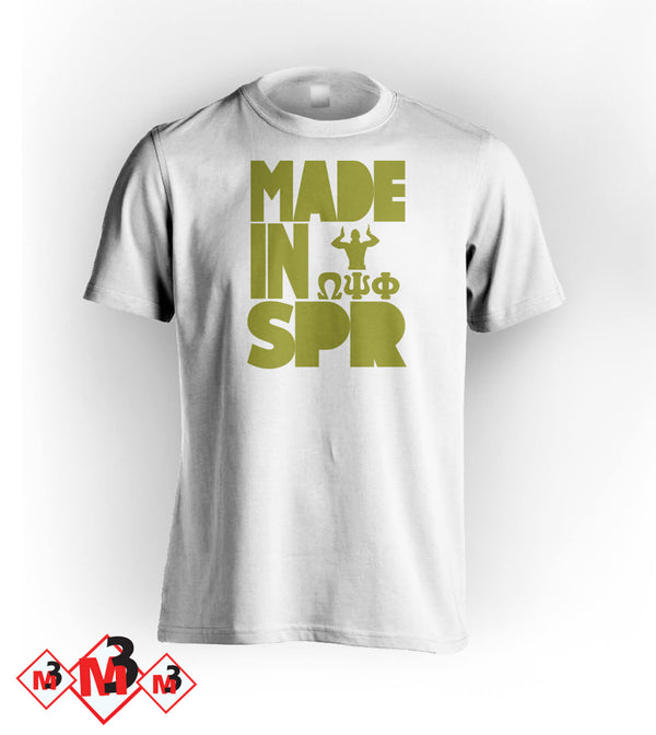 MADE In SPRING Omega Tee - M3 Greek