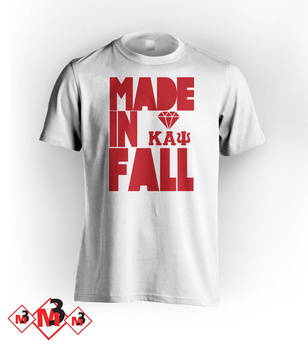 MADE In Fall Kappa Tee - M3 Greek