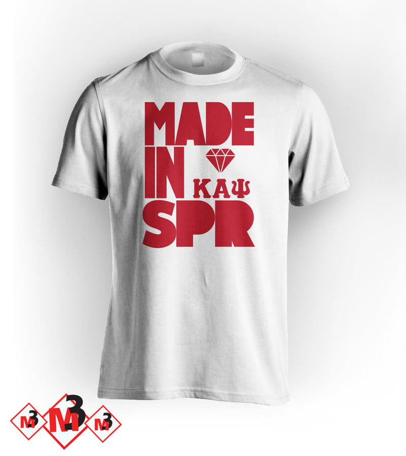 MADE in Spring Kappa Tee -Greek_Paraphernalia - M3 Greek
