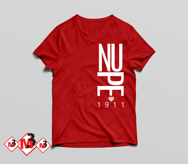 Modern Nupe V-Neck Tee - Kappa Alpha Psi -Greek_Paraphernalia - M3 Greek