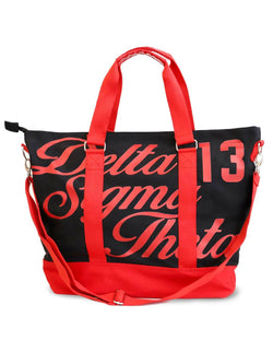 Large Canvas Tote Bag - Delta Sigma Theta®️