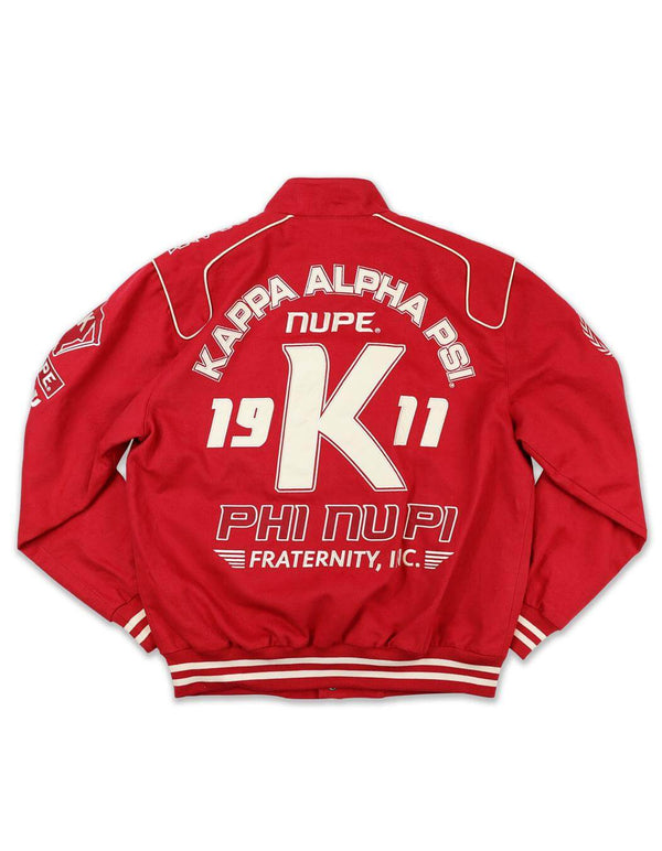 Nascar Jacket - Kappa Alpha Psi -Greek_Paraphernalia - M3 Greek