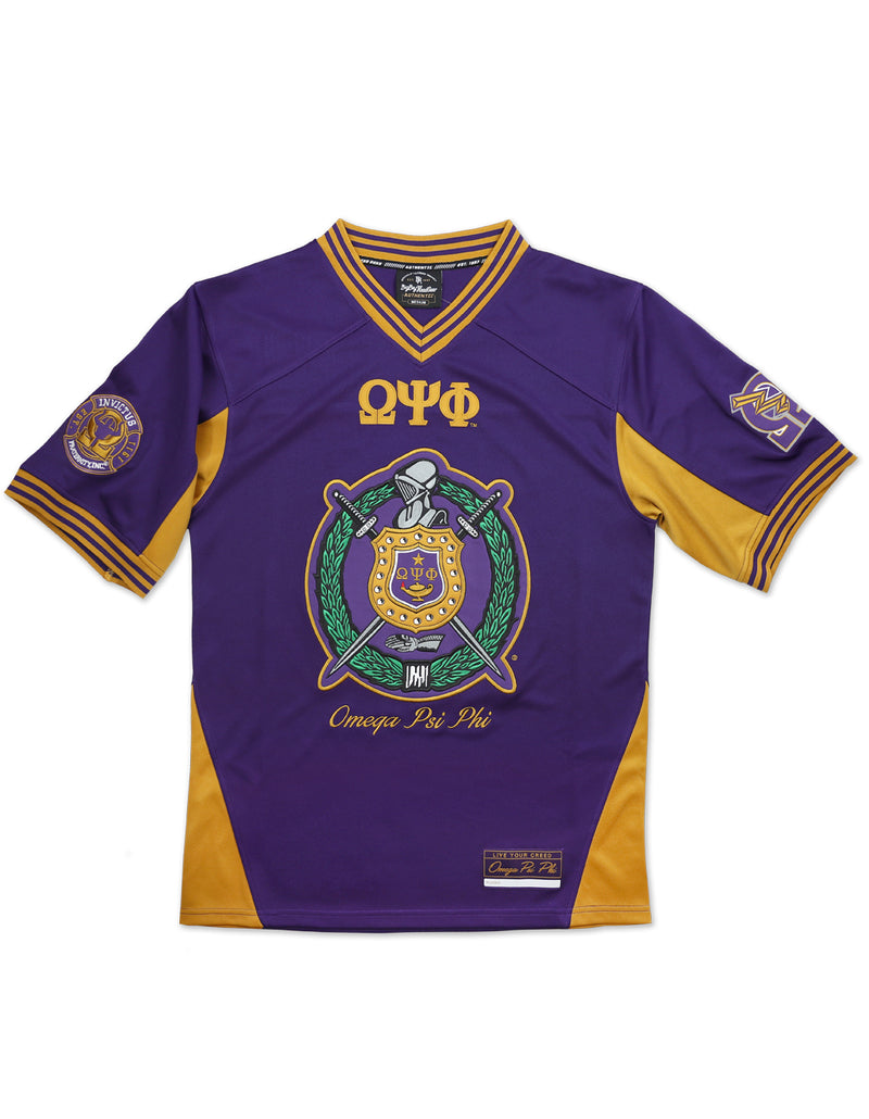 Football Jersey - Omega Psi Phi -Greek_Paraphernalia - M3 Greek