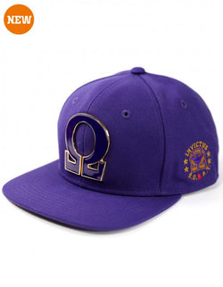 Snap back cap - Omega Psi Phi -Greek_Paraphernalia - M3 Greek