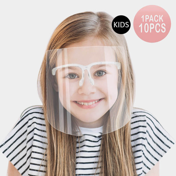 Kids Face Shields Commercial Orders Only (100 Minimum)