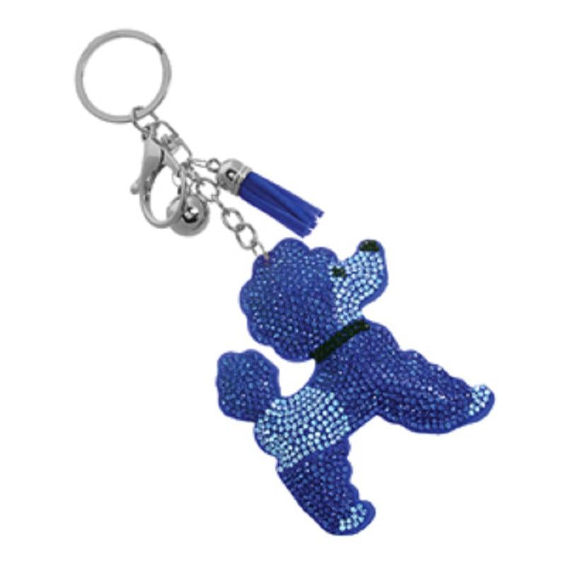 Poodle Purse charm/key chain -Greek_Paraphernalia - M3 Greek
