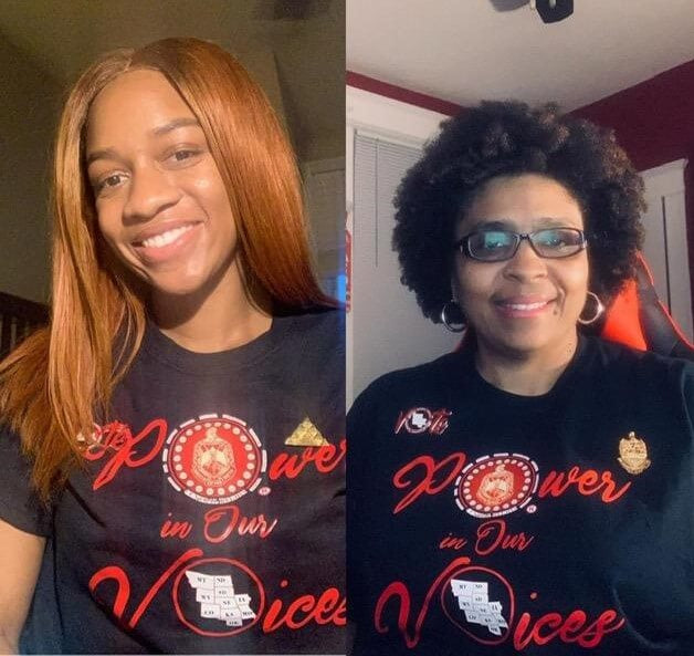 Central Region Power in Our Voices Tee - Delta Sigma Theta®️