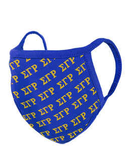 Sigma Gamma Rho Greek Mask -Greek_Paraphernalia - M3 Greek