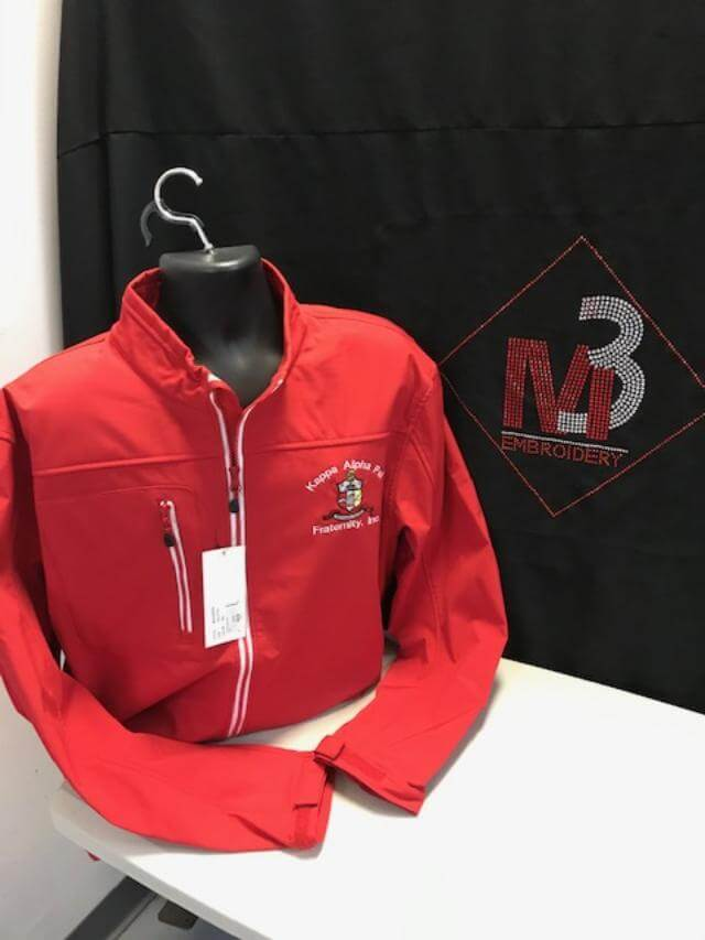 M3GREEK®️ Custom All Weather Jacket - Kappa Alpha Psi -Greek_Paraphernalia - M3 Greek