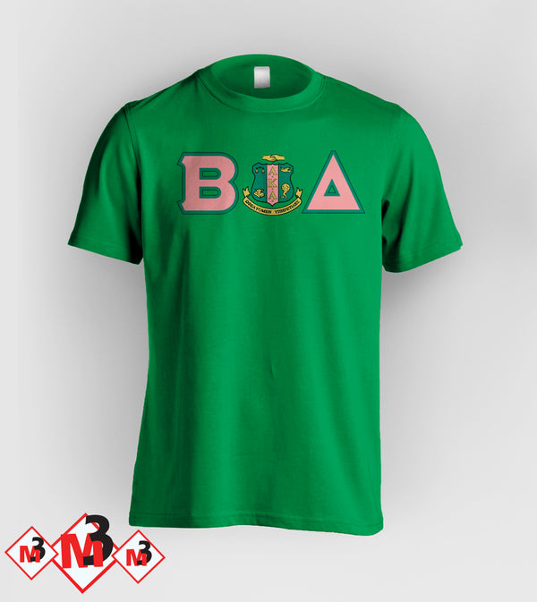 Twill Letter - Where You From Tee - Alpha Kappa Alpha - M3 Greek