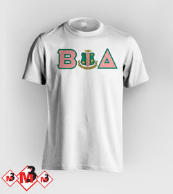 Twill Letter - Where You From Tee - Alpha Kappa Alpha®️ -Greek_Paraphernalia - M3 Greek