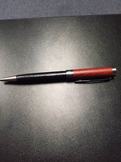 Wood & Leather Pen