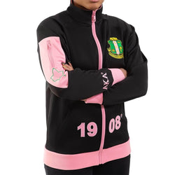 Elite Pre-Decorated Track Jacket - Alpha Kappa Alpha®️