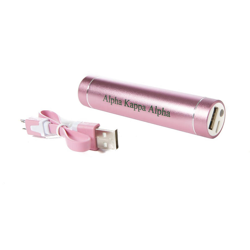 Premium LED Power Bank - Alpha Kappa Alpha®️