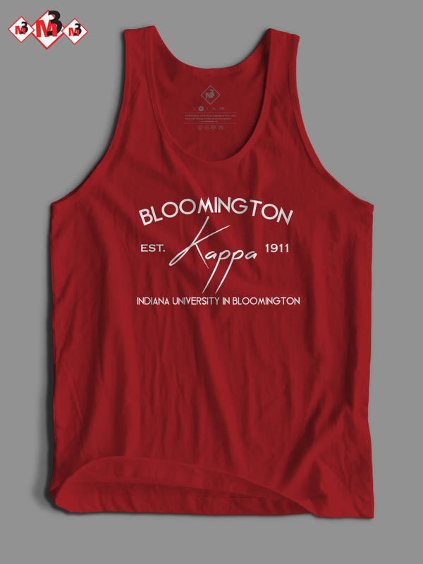 Bloomington - Kappa Alpha Psi Tank - M3 Greek