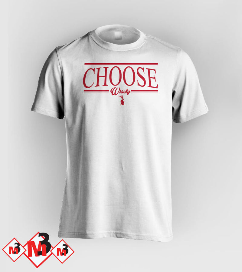 Choose Wisely Tee - Delta Sigma Theta®️ -Greek_Paraphernalia - M3 Greek