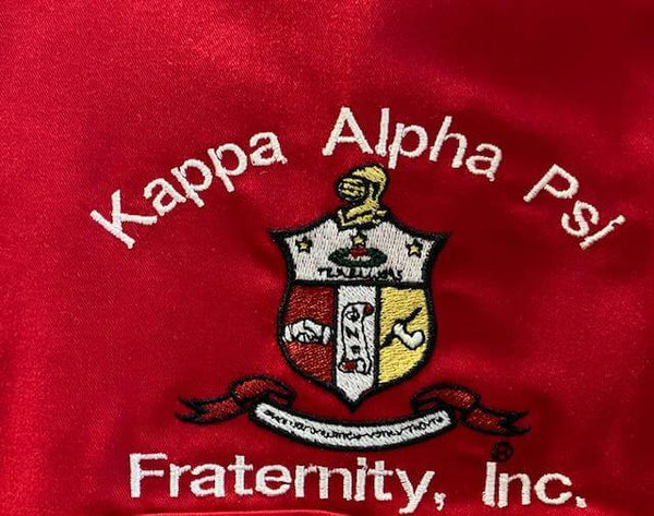 Half Zip Long Sleeve COA Golf Shirt - Kappa Alpha Psi