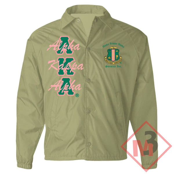 Crossing Jacket - Alpha Kappa Alpha®️ -Greek_Paraphernalia - M3 Greek