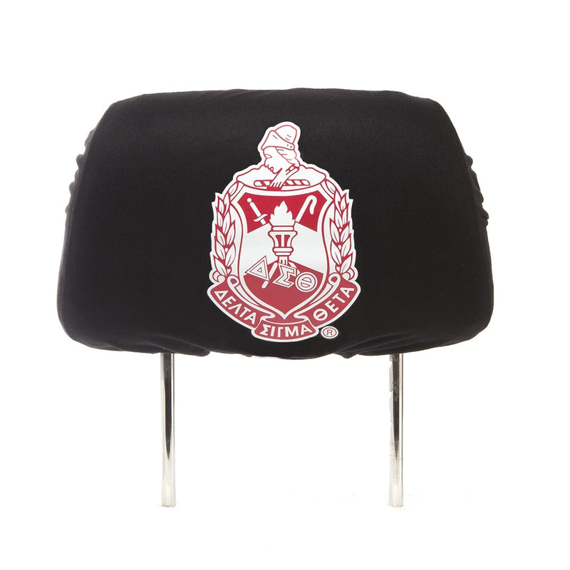 Car Head Rest Covers - Delta Sigma Theta®️ -Greek_Paraphernalia - M3 Greek